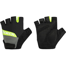 Roeckl Bozen Gants, black/yellow